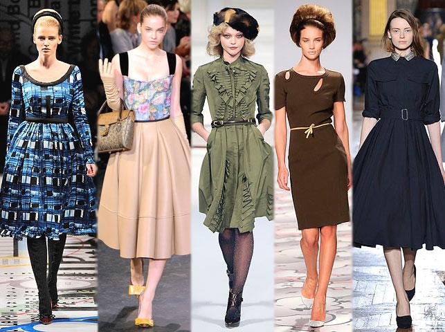 Модные тенденции в моде платья