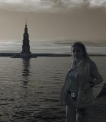 на отдыхе в России