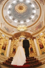 Венчание Андрея и Людмилы Емелиных