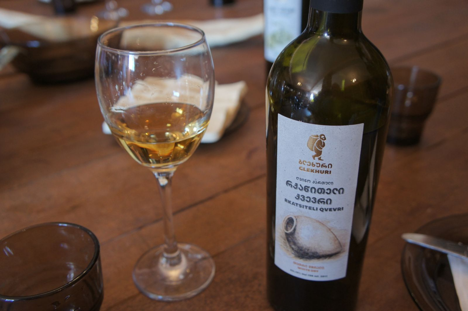 Хорошее Грузинское белое вино - это что-то