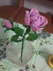 Цветы из бисера!