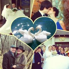 Коллаж к пятилетию форума/свадьбы